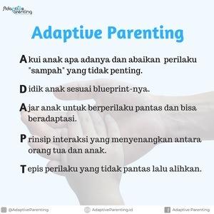 5 langkah Adaptive Parenting